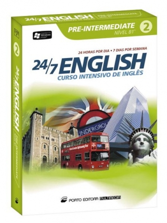24/7 English - Curso Int.Ingles - Pre-