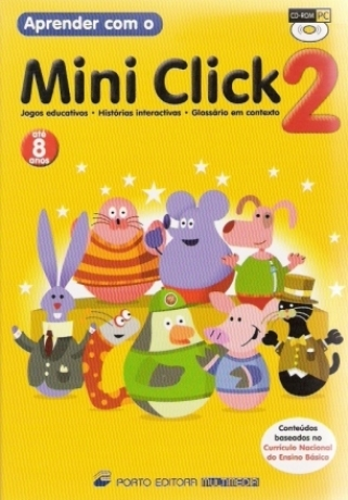 Aprender Com O Mini Click 2 - Cd Rom
