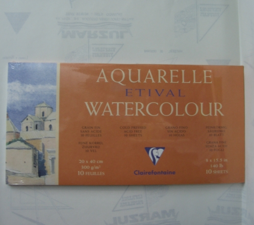 Bloco Aquarelle 300G/M2 Clairefontaine