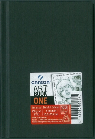 Bloco Art Book A6 Canson