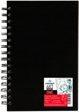 Bloco Art Book One 27,9X35,6  Canson C/