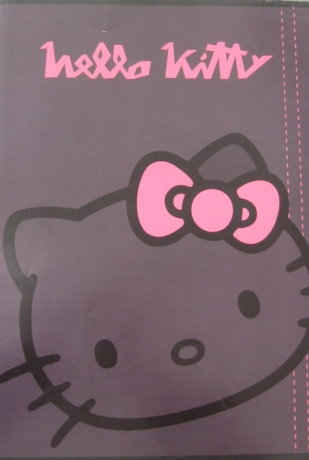 Caderno A4 Hello Kitty Pautado
