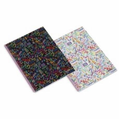 Caderno A4 Just 4 Girls Quadriculado Capa