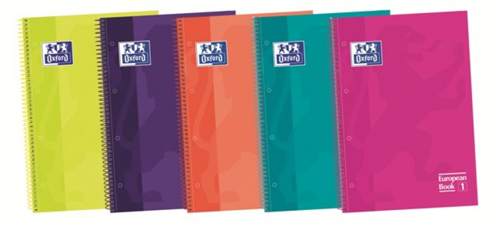 Caderno A4 Oxford Pautado Soft Touch