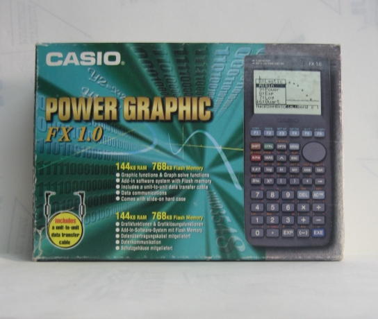 Calculadora Power Graphic Fx 1.0 Casio