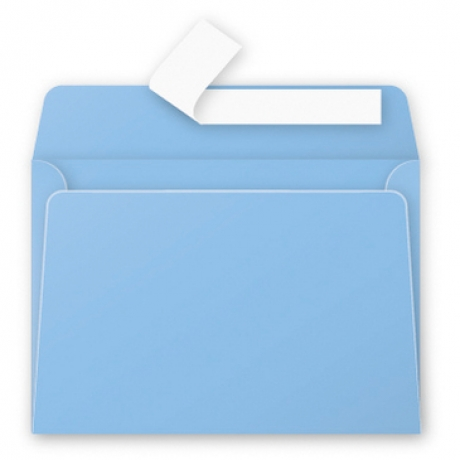 Envelope Azul Lavanda 114X162Mm 120G/M2
