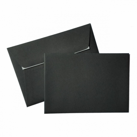 Envelope Preto 114X162Mm 120G/M2  Refª5836