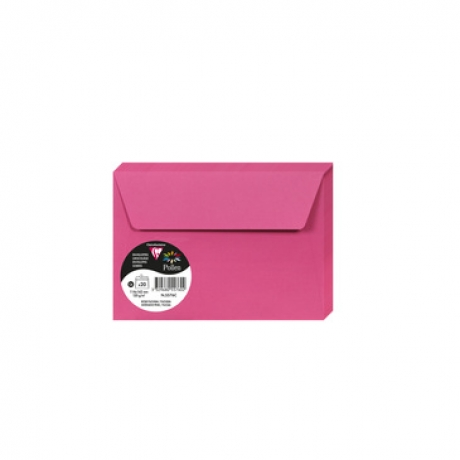 Envelope Rosa Fucsia 114X162Mm 120G/M2