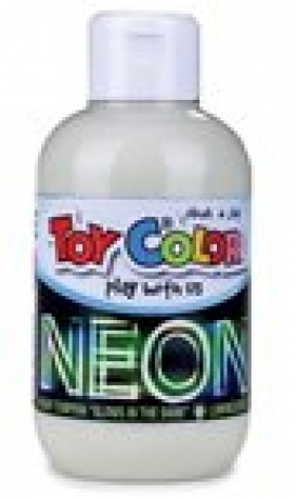 Frasco Guache Neon Luminoso 250 Ml Toy