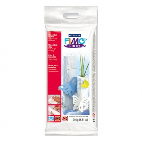 Pasta De Modelar Light Branco 250 G