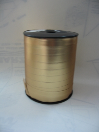 Rolo Fita Embrulho Ouro Mate 10Mmx250 Mt