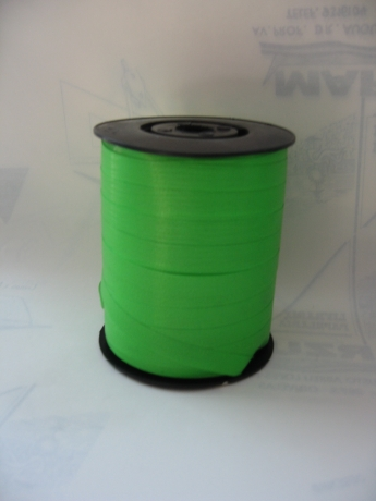 Rolo Fita Embrulho Verde Claro 10Mmx250 Mt