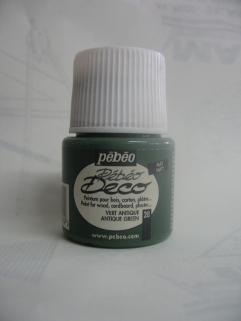 Tinta Deco Acríilica Vert Antique/Antique