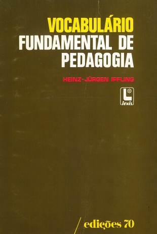 Vocabulario Fundamental De Pedagogia